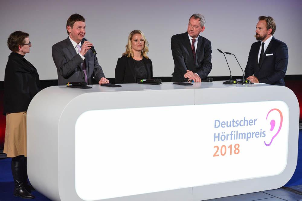Hochauflösende Pressefotos Deutscher Hörfilmpreis
